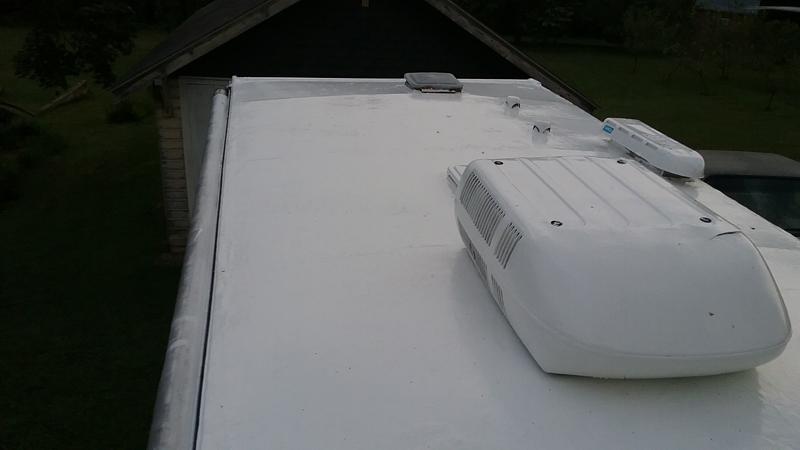 RV Roof leaks